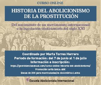 Historia del Abolicionismo de la Prostitución