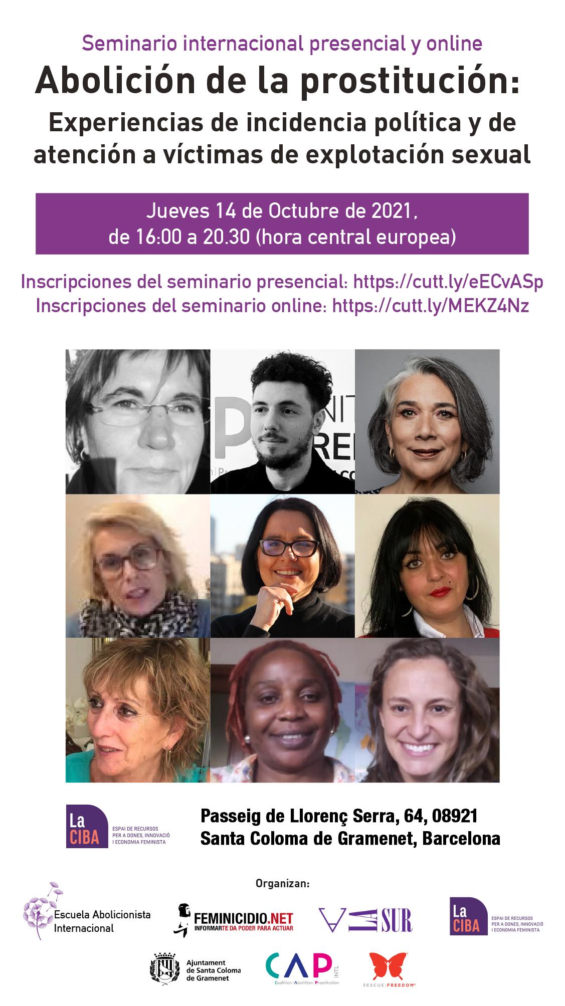 Seminario internacional por la abolición de la prostitución