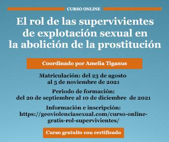 El rol de las supervivientes de explotación sexual en la abolición de la prostitución